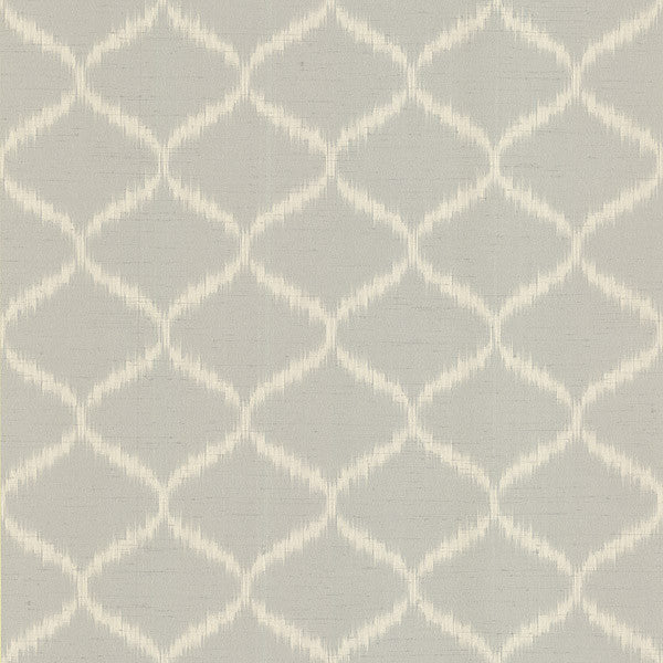 Abal Light Grey Ogee Wallpaper