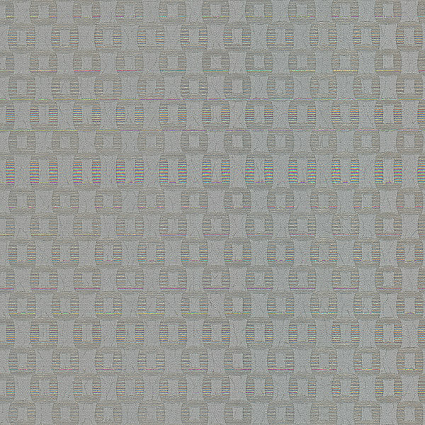 Sablon Silver Crepe Block Wallpaper