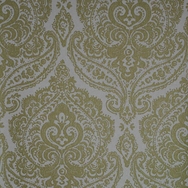 Jamilah Gold Damask Wallpaper