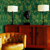 Karimah Green Jacobean Wallpaper
