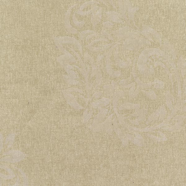 Baja Light Brown Paisley Spot Wallpaper