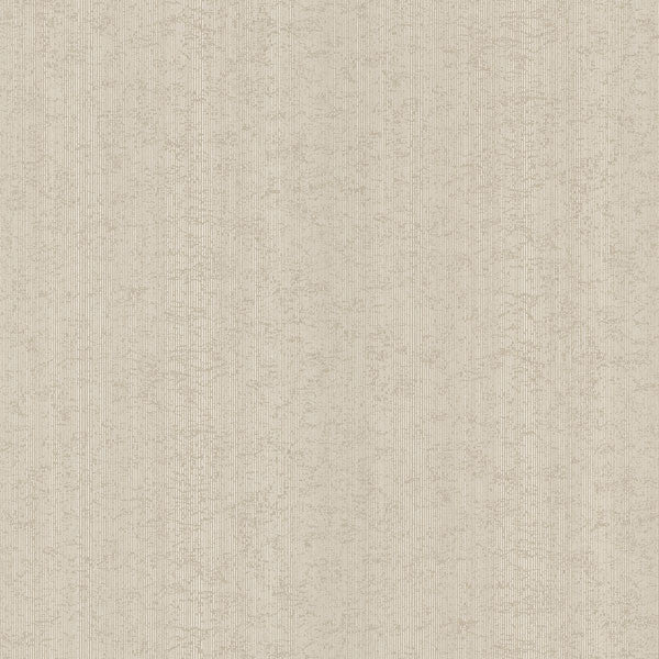 Newton Beige Distressed Stria Texture Wallpaper
