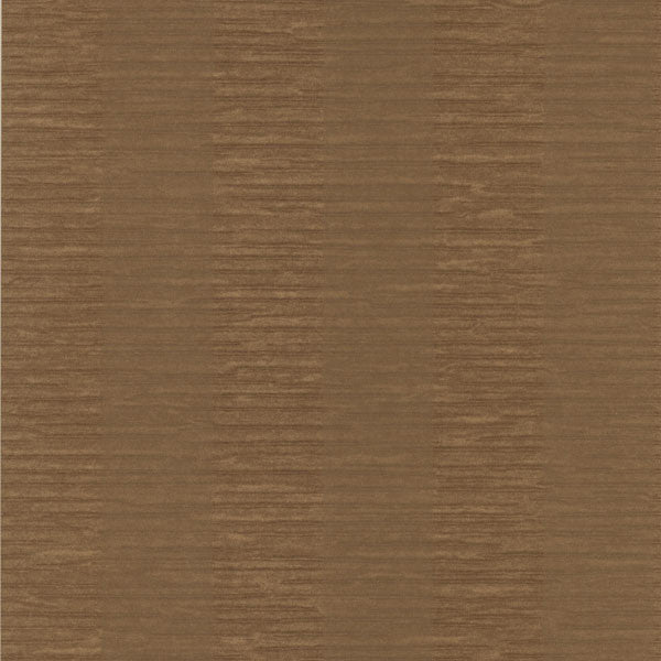 Karmen Brown Crepe Stripe Wallpaper