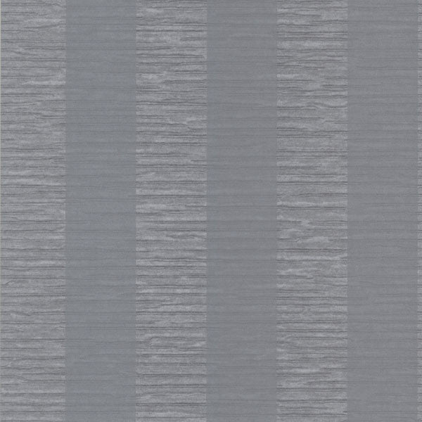 Karmen Grey Crepe Stripe Wallpaper