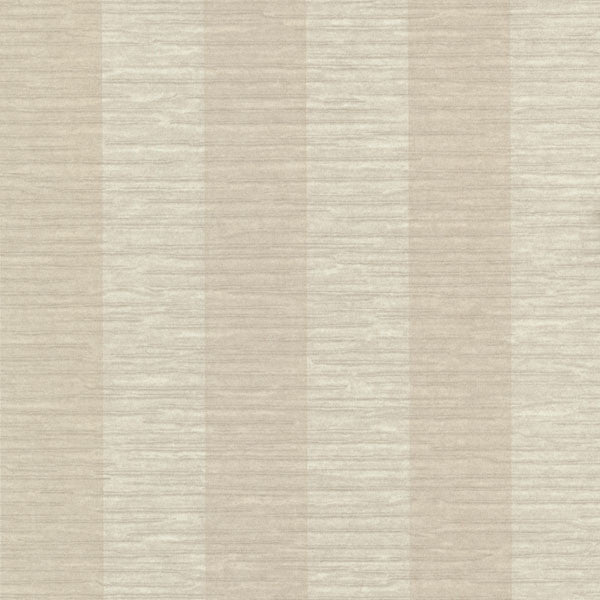 Karmen Taupe Crepe Stripe Wallpaper