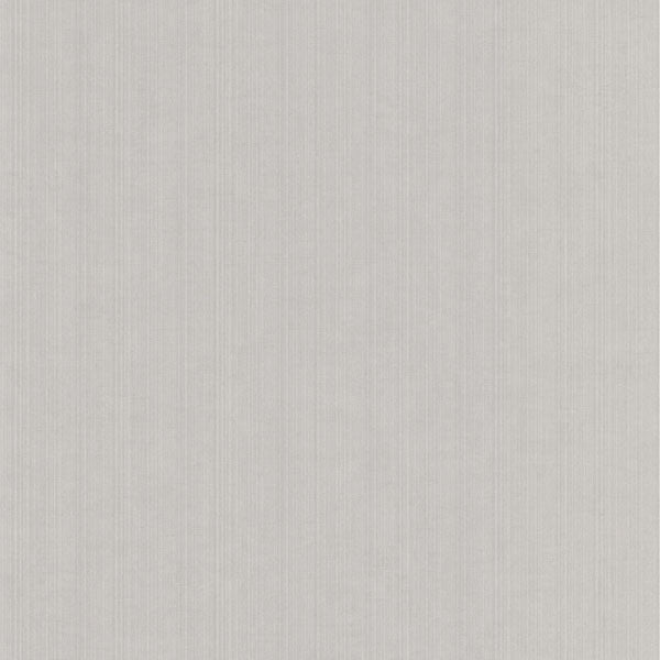 Tulsi Grey Striped Fabric Texture Wallpaper