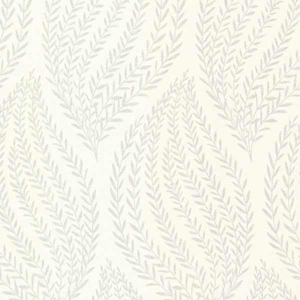 Calix Platinum Sienna Leaf Wallpaper