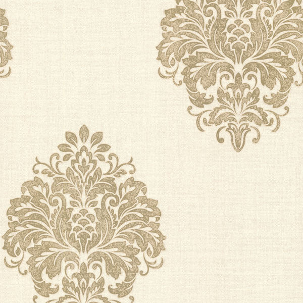 Duchess Gold Damask Wallpaper