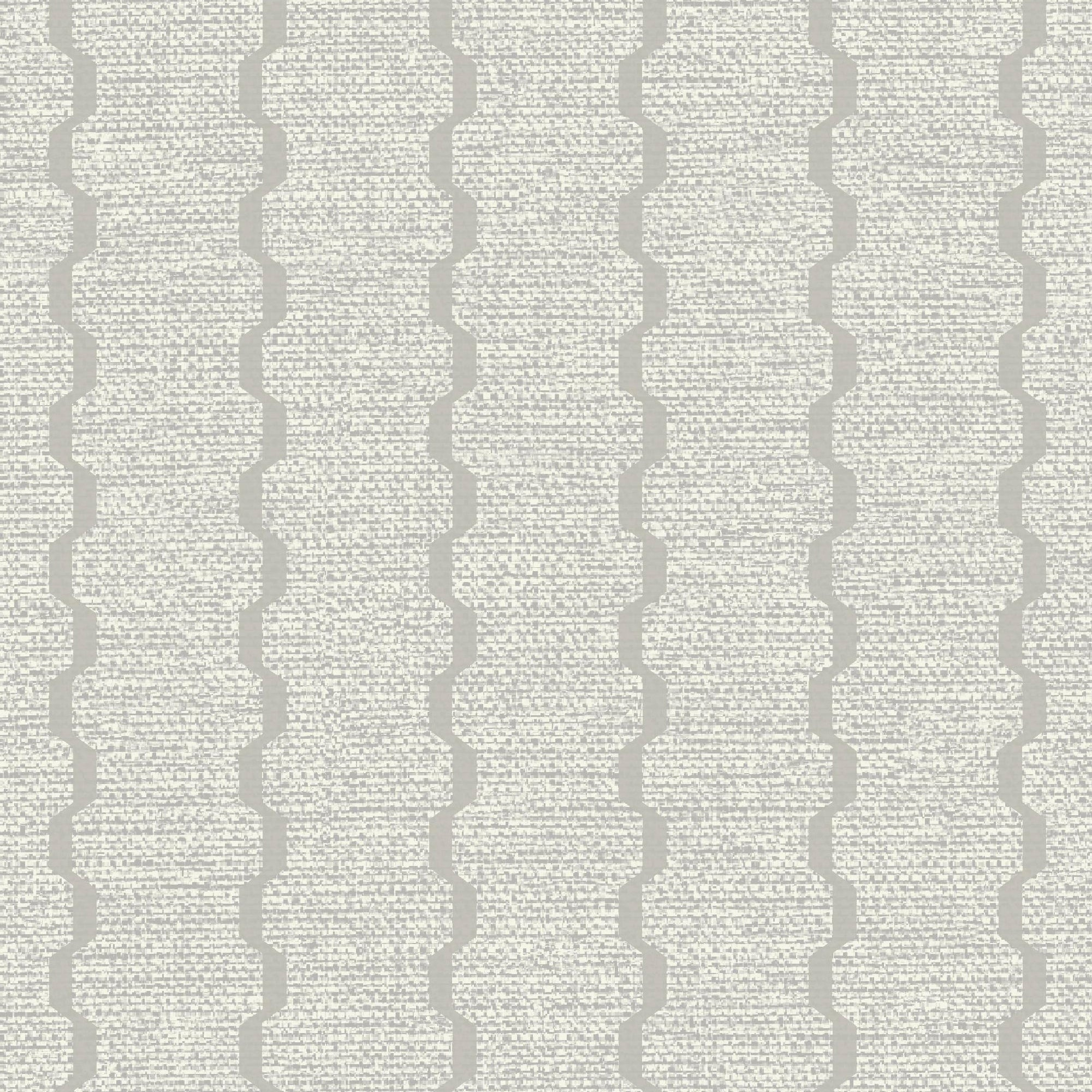 Textured Waved Stripe In Taupe, 8165 32