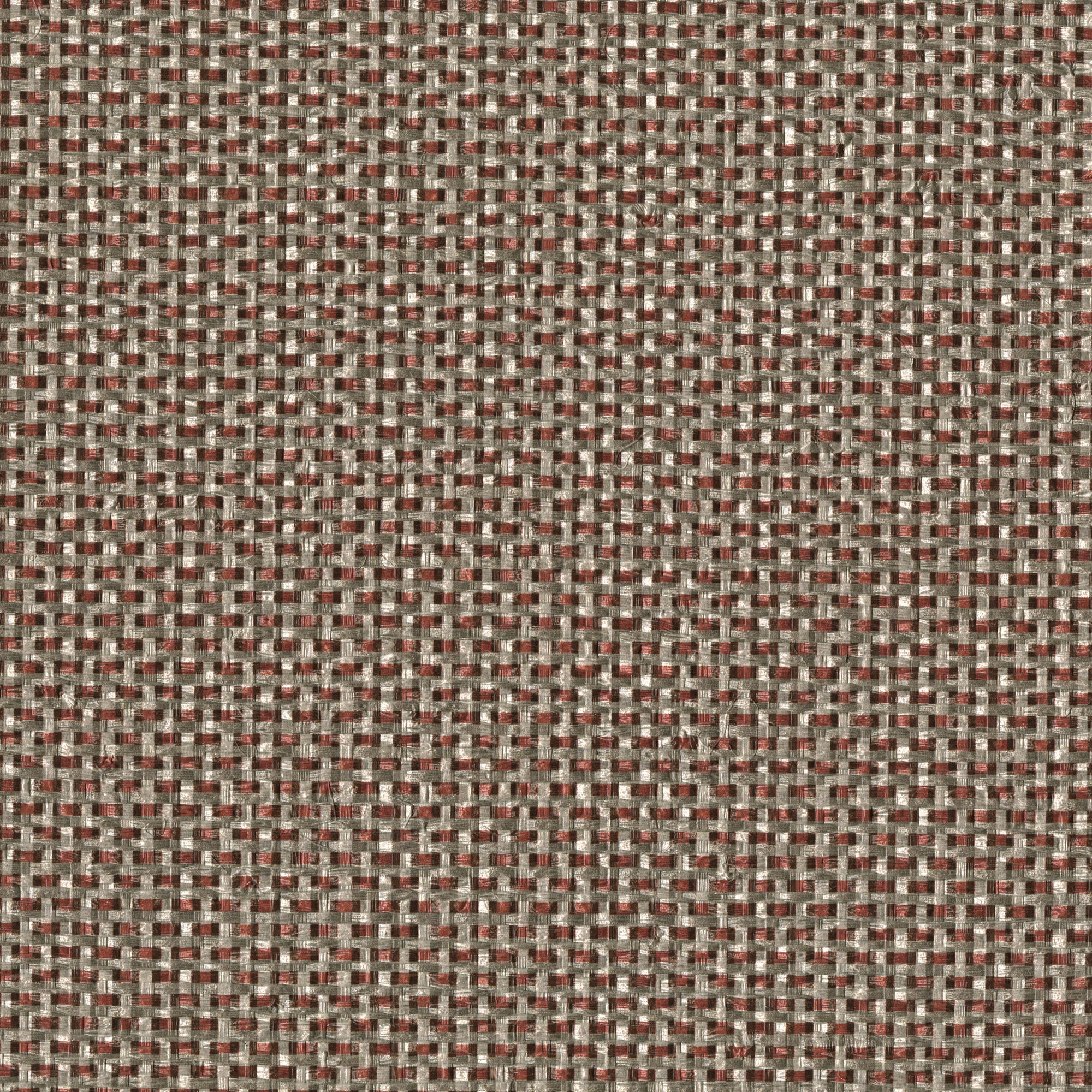 Faux Grasscloth Interlaced Weave In Tan And Khaki, 8171 28