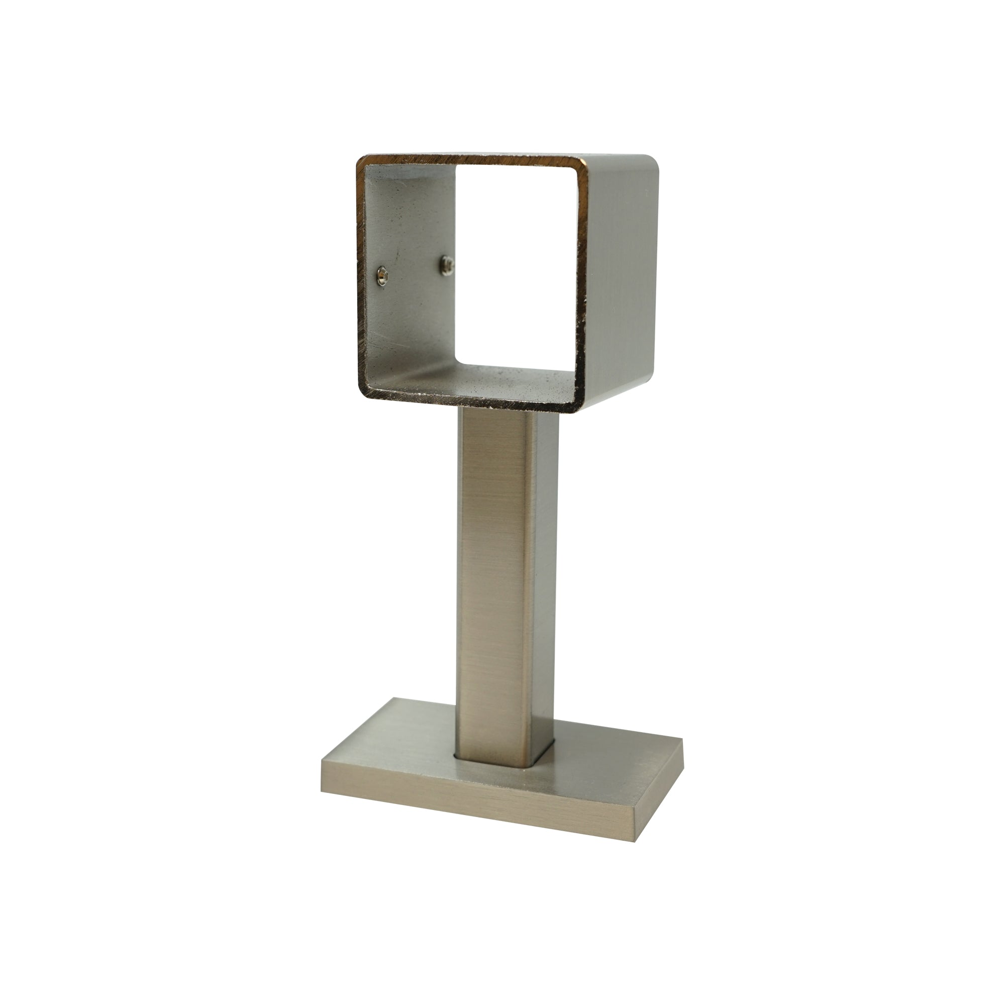 Square Metal Bracket - Pewter Finish
