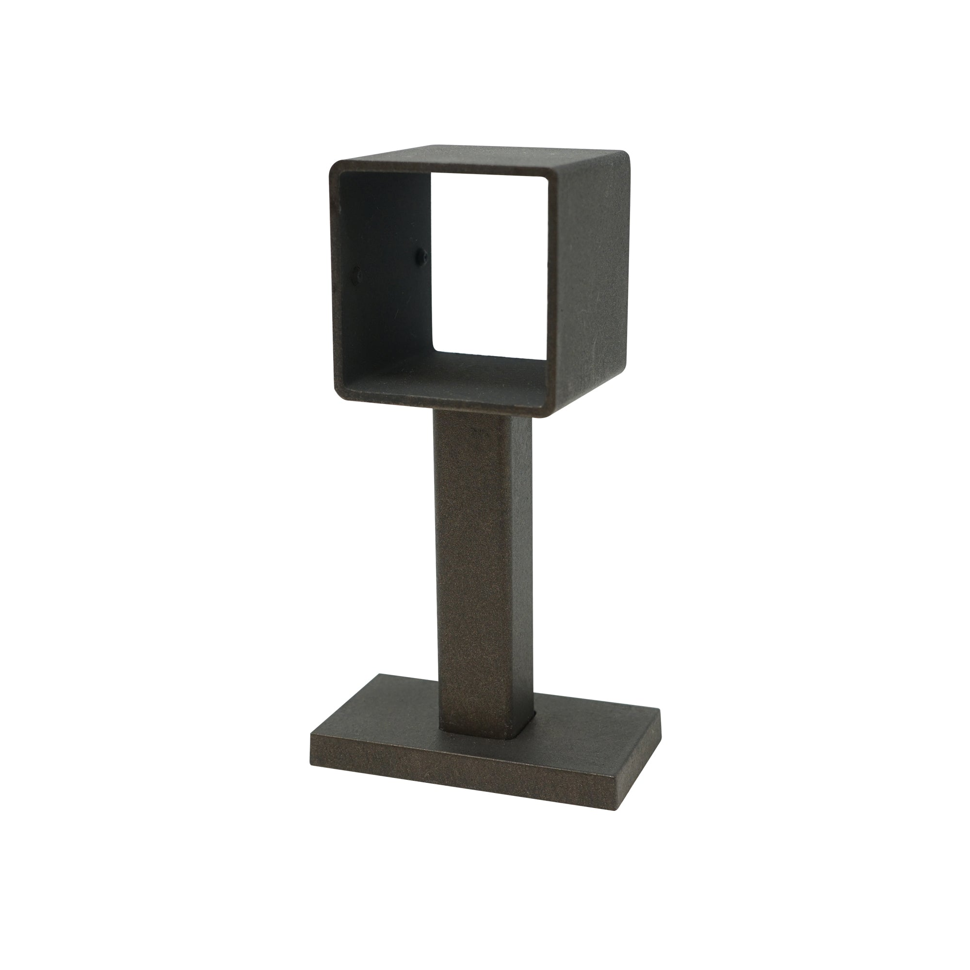 Square Metal Bracket - Iron Finish