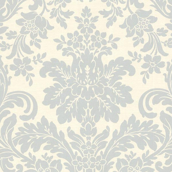 Birgitta Sky Damask Wallpaper