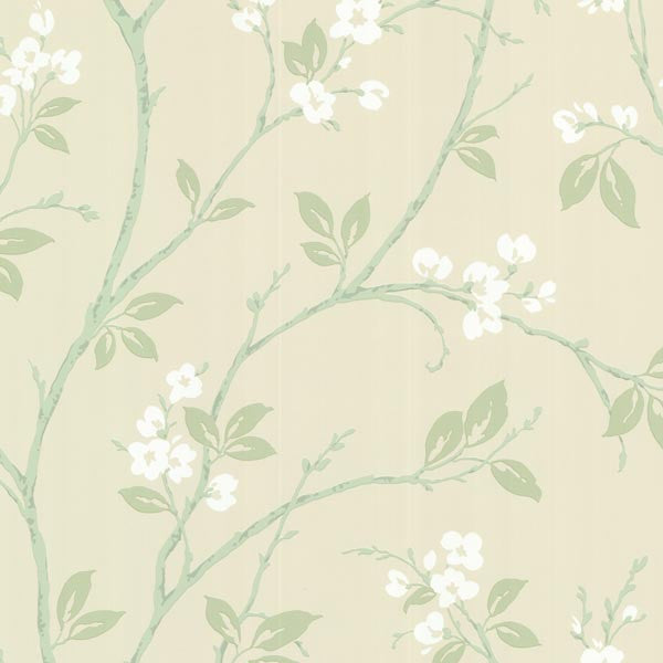 Kassidy Mint Dogwood Trail Wallpaper