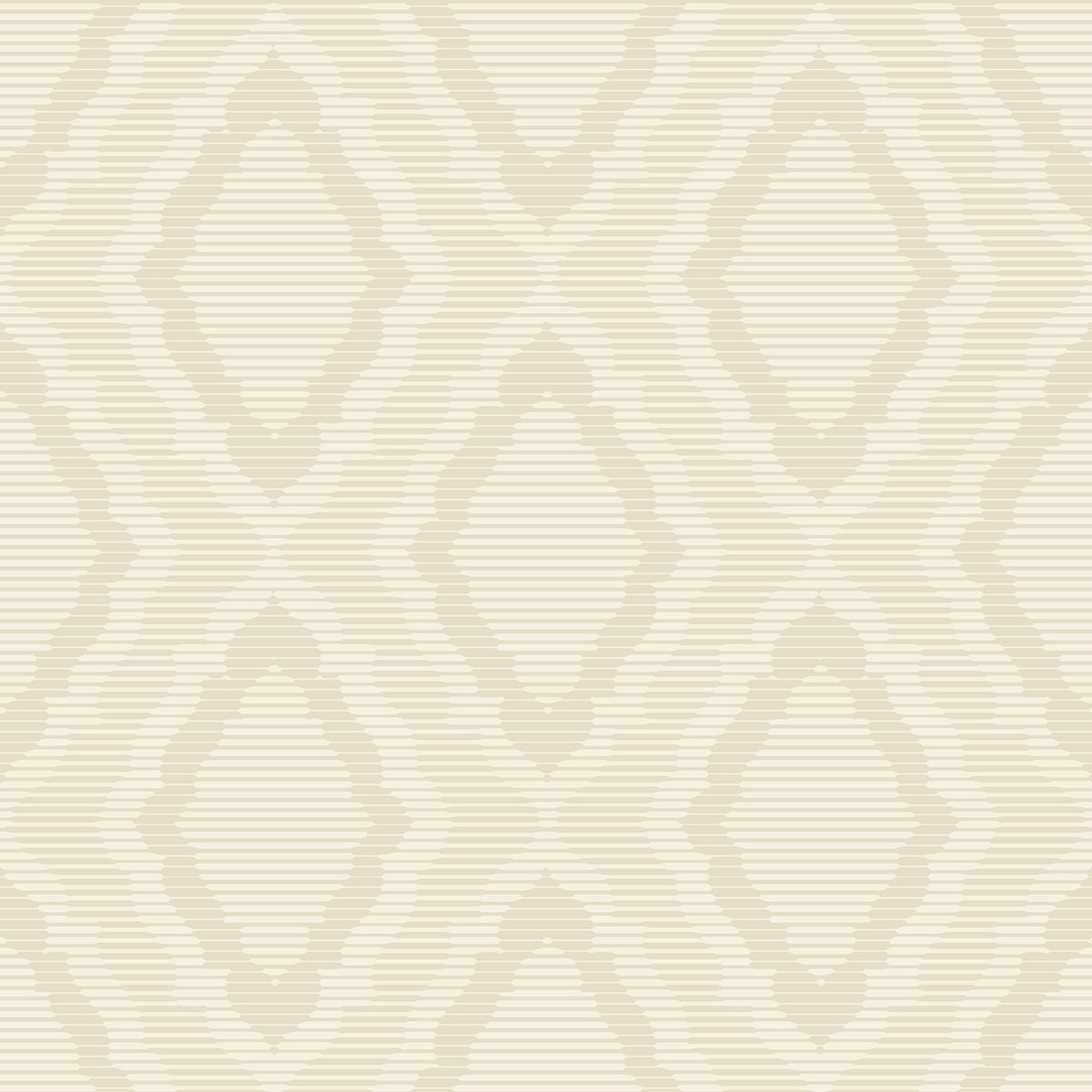 Candice Olson Decadence Amulet Wallpaper in Offwhite