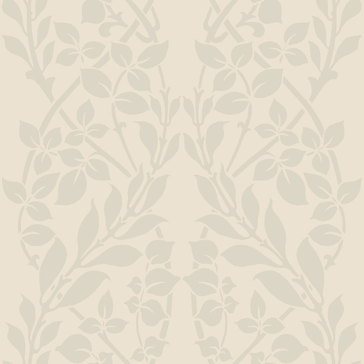 Candice Olson Decadence Botanica Wallpaper in Offwhite