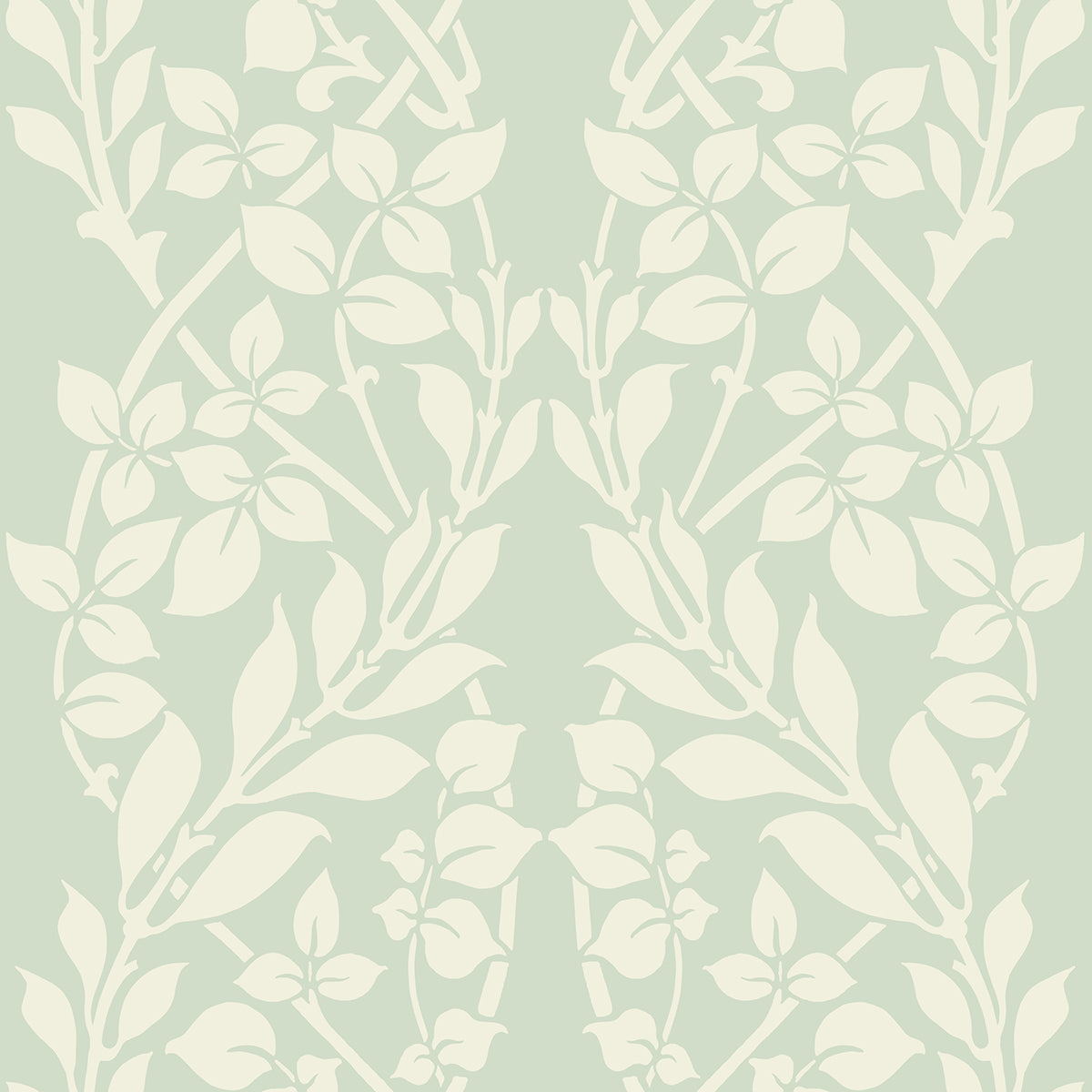 Candice Olson Decadence Botanica Wallpaper in Green