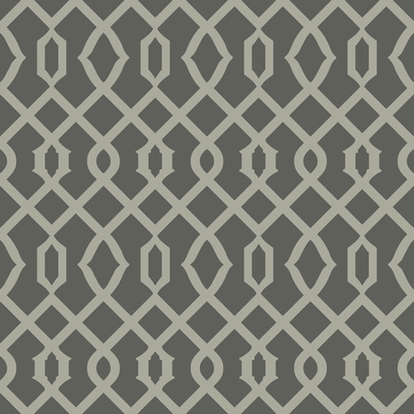 Candice Olson Decadence Luscious Wallpaper in Grey/silver