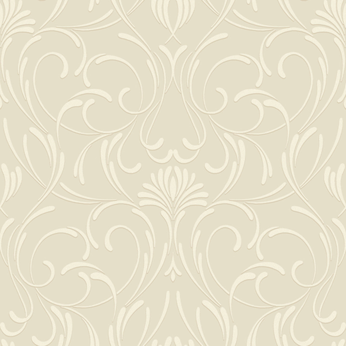 Candice Olson Decadence Amour Wallpaper in White