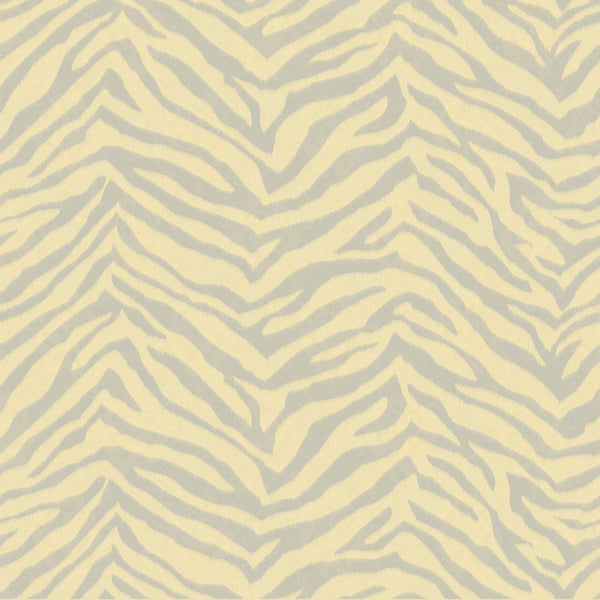 Mia Peach Faux Zebra Stripes Wallpaper Wallpaper