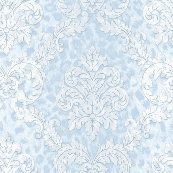 Gabriella Light Blue Ogge Busy Toss Wallpaper Wallpaper