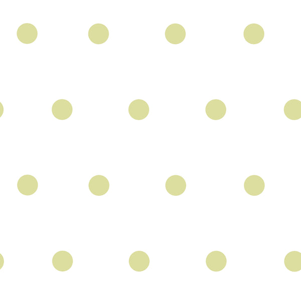 Kenley Green Polka Dots Wallpaper Wallpaper