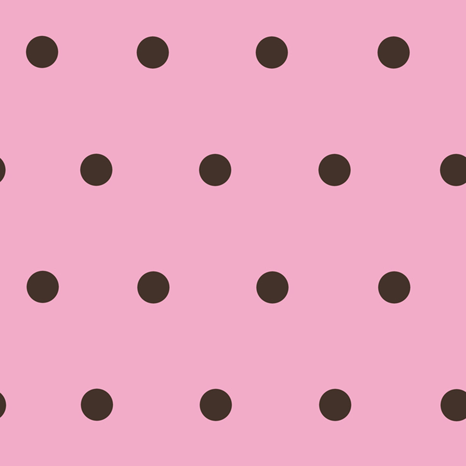 Kenley Blackberry Polka Dots Wallpaper Wallpaper