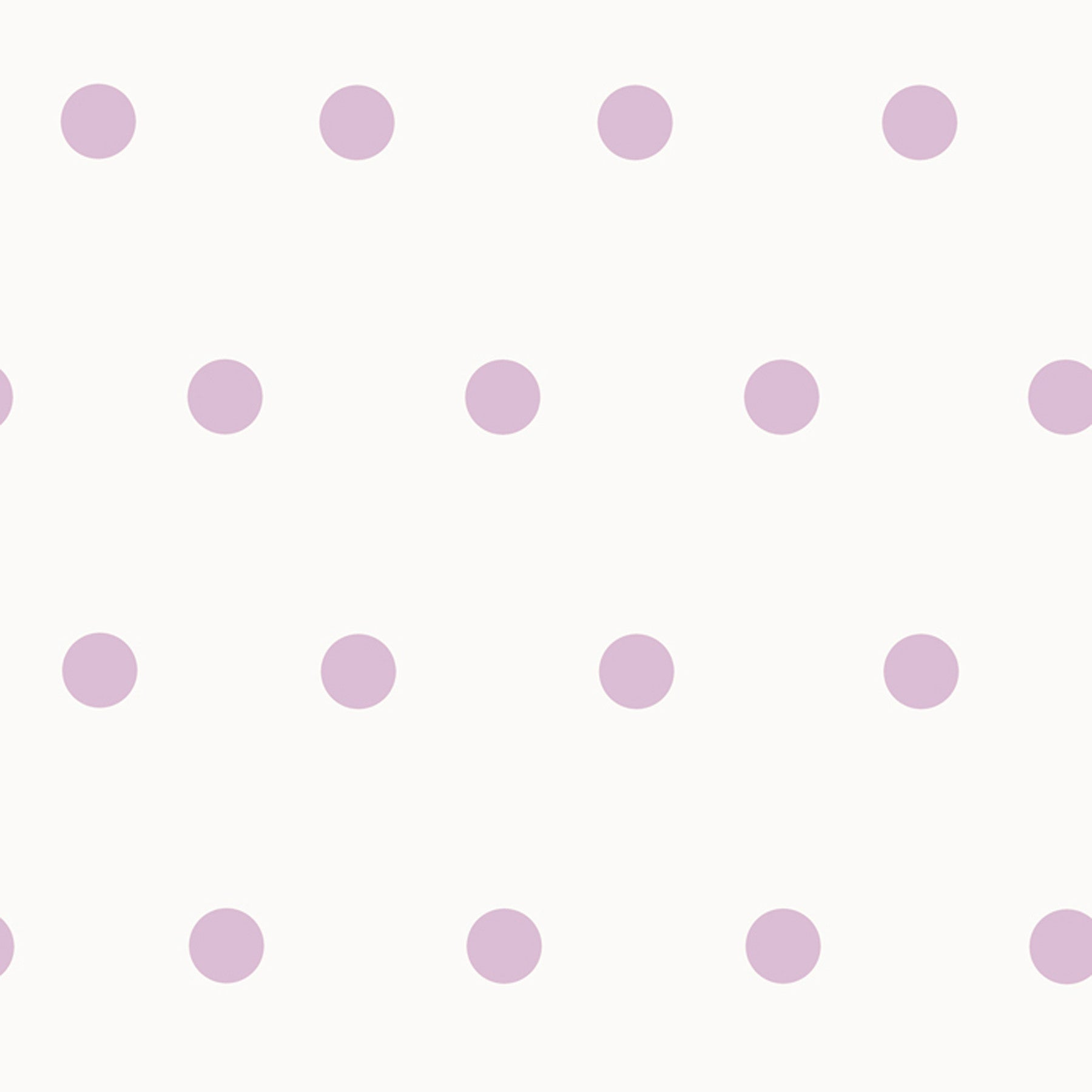 Kenley Purple Polka Dots Wallpaper Wallpaper