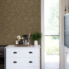 Coastal Trellis Wallpaper - Brown