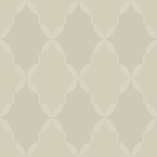 Modern Artisan Roxy Wallpaper in Grey/silver