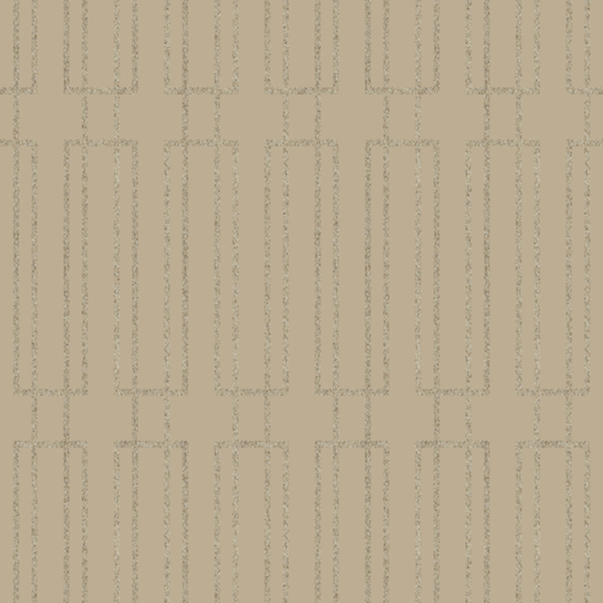 Modern Artisan Terrace Wallpaper in Taupe