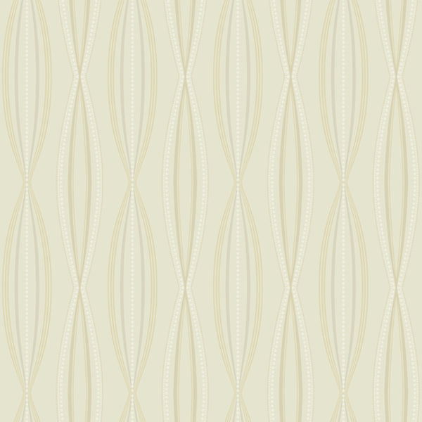 Modern Artisan Sonnet Wallpaper in Taupe