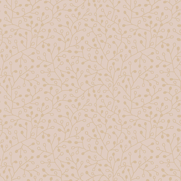 Candice Olson Intrigue Wallpaper - Gold On Blush