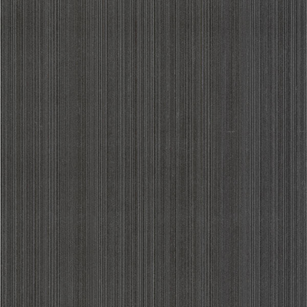 Suelita Charcoal Striped Texture Wallpaper