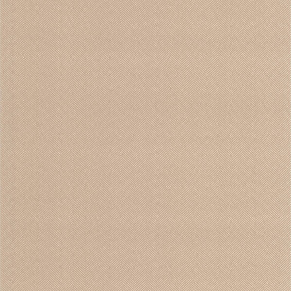 Paschal Taupe Herringbone Texture Wallpaper