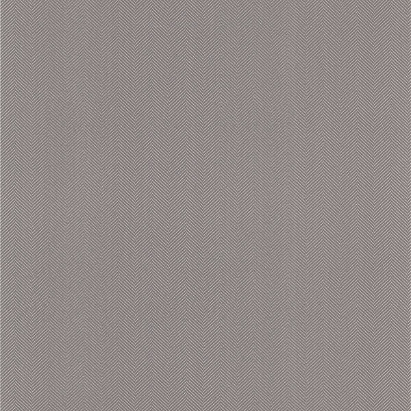 Paschal Grey Herringbone Texture Wallpaper