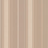 Gavin Taupe Stripe Wallpaper