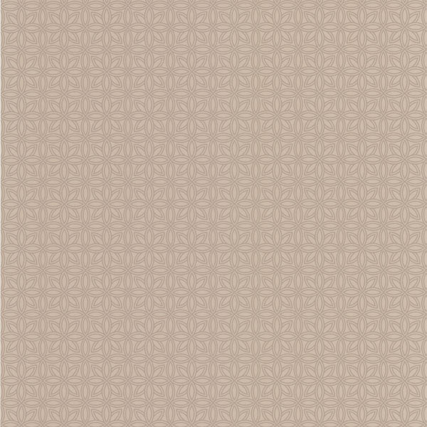 Tangine Beige Mini Moroccan Geometric Wallpaper
