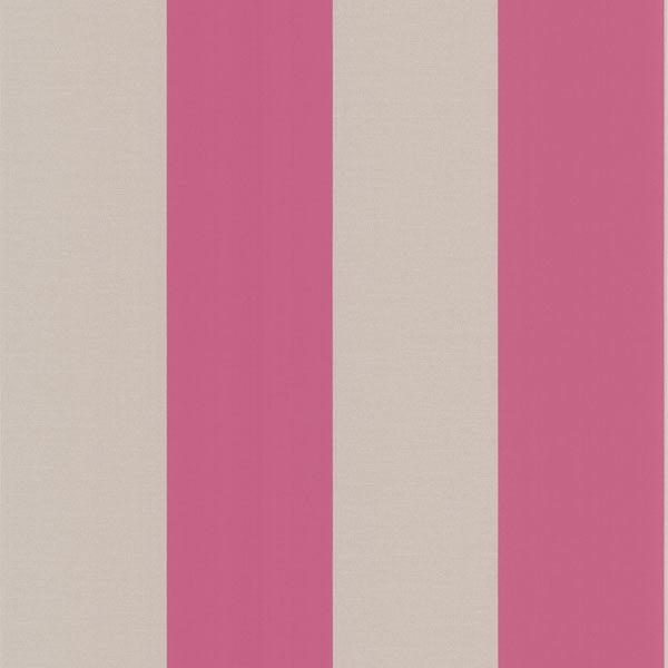 Purcell Pink Stripe Wallpaper