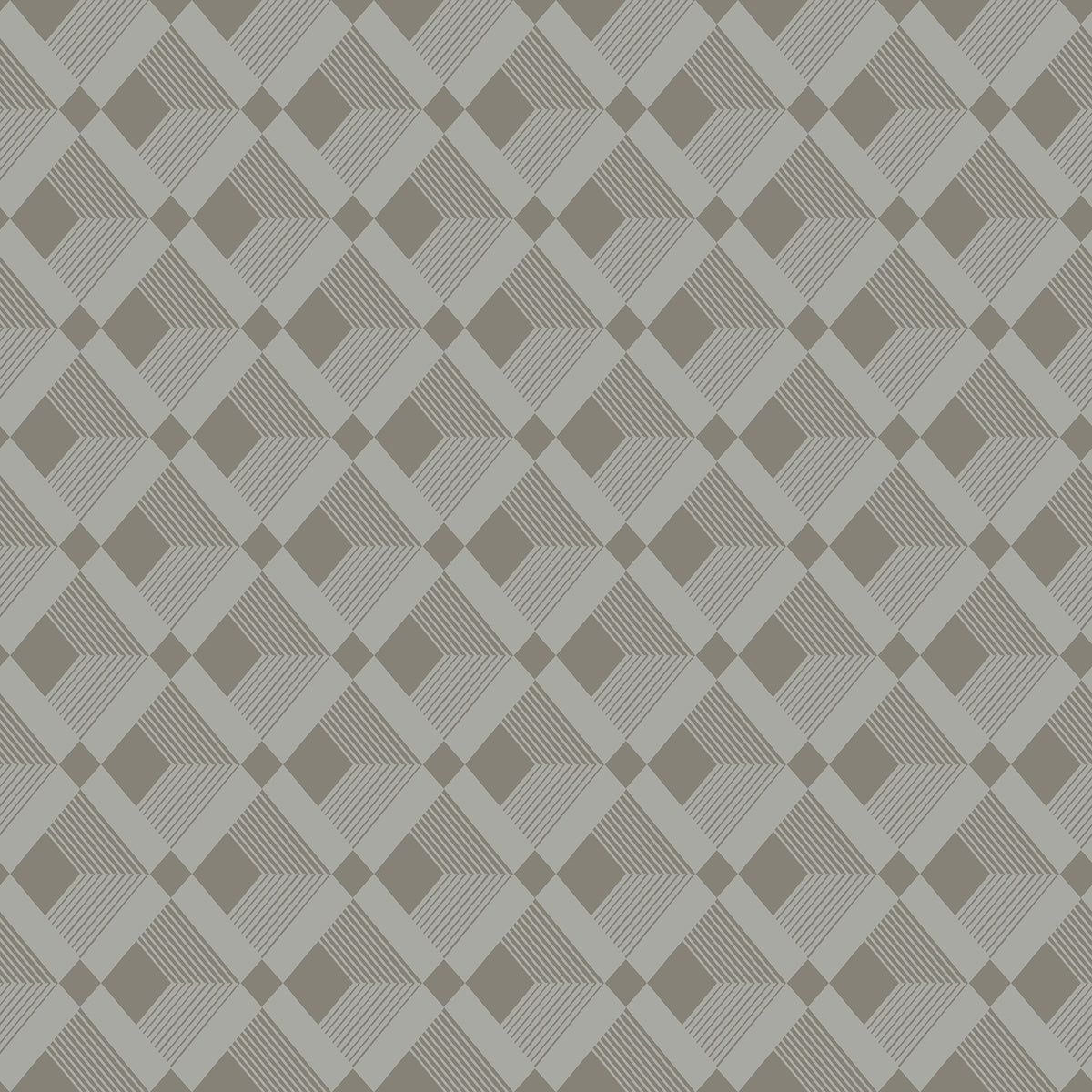 Dwell Studio Esher Wallpaper - Metallics (Geometric)