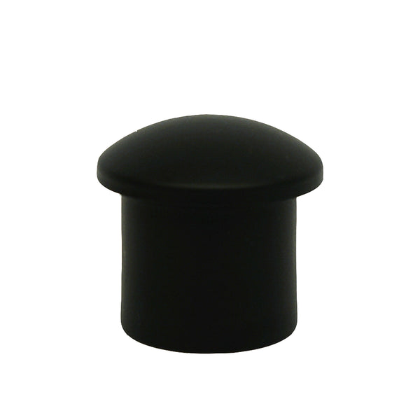Metal End Cap - Black For 1