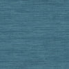 Sea Grass Blue Faux Grasscloth Wallpaper