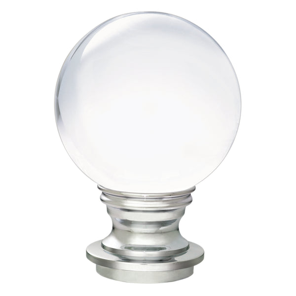 Acrylic Ball Finials - Mirrored Chrome