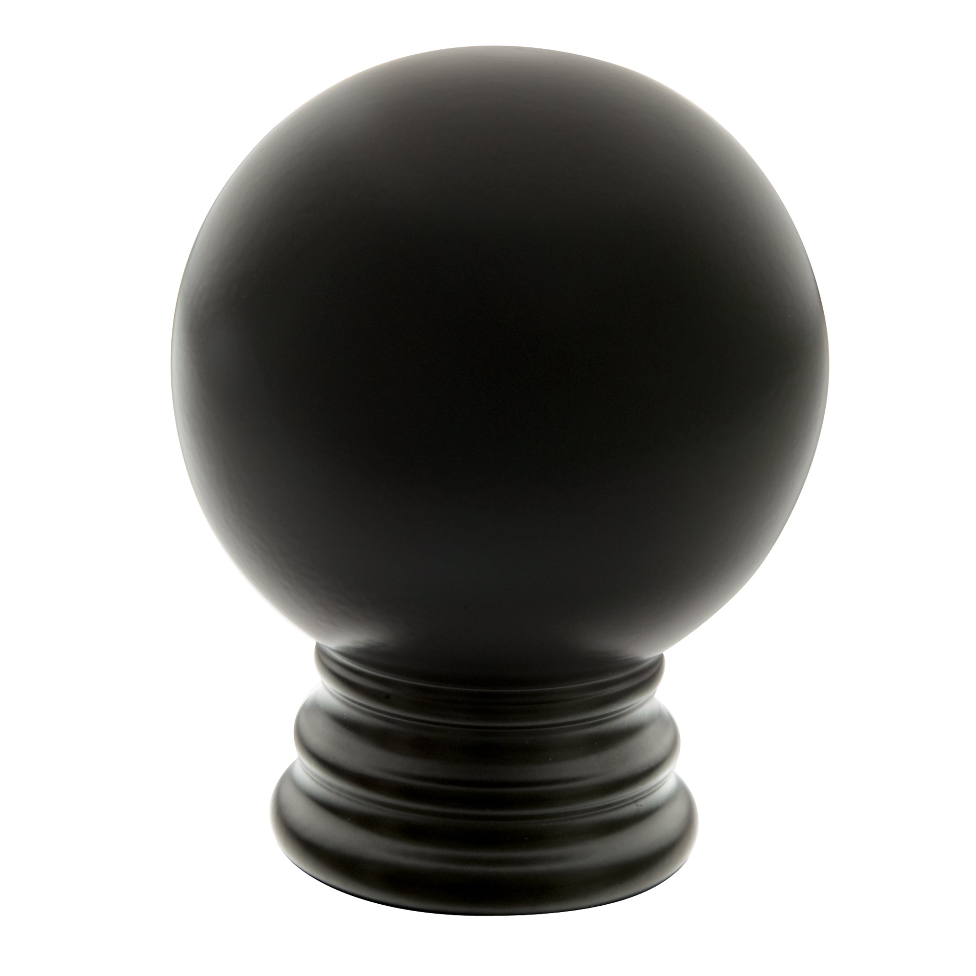 Metal Ball Finials - Black