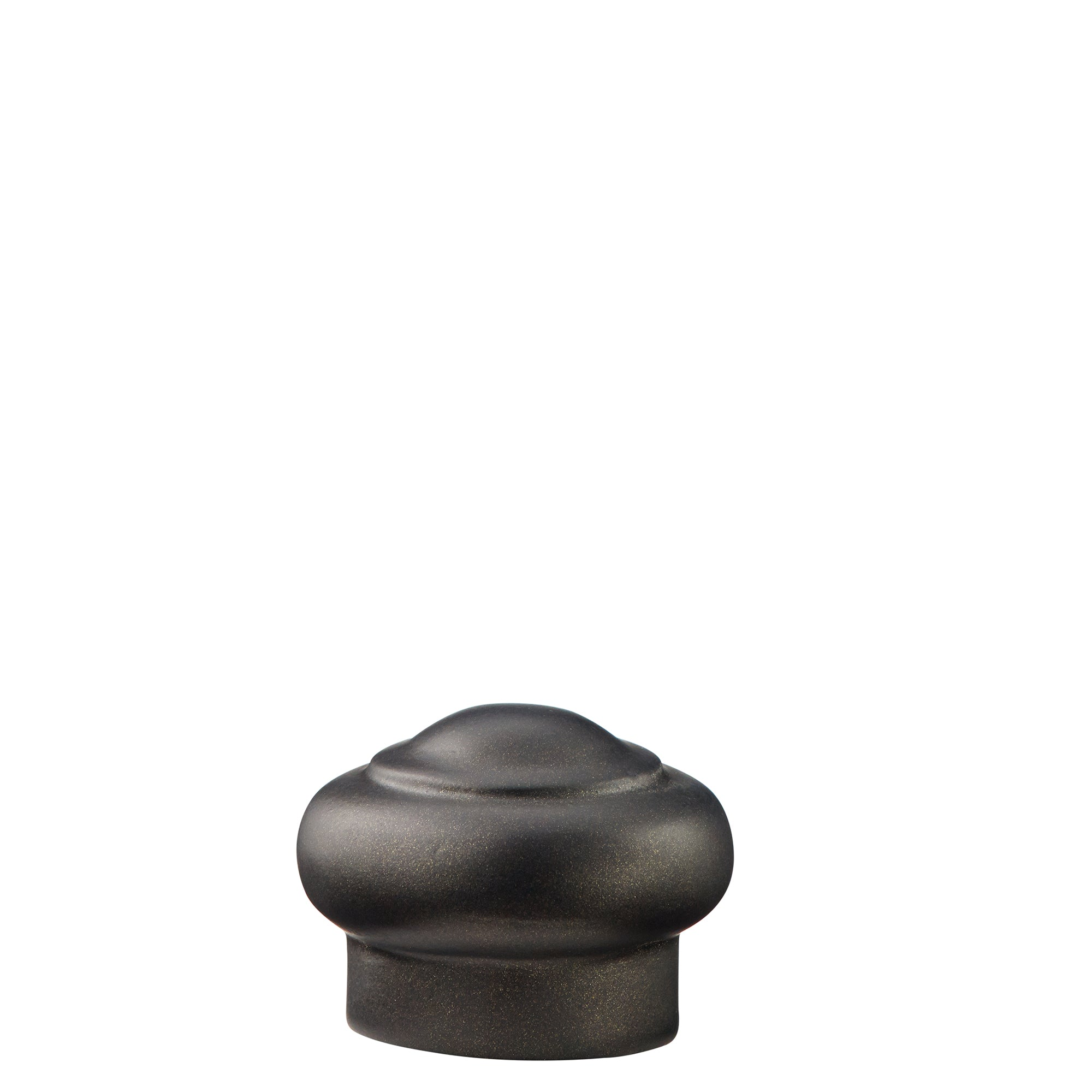 Resin End Cap Finials - Bronze