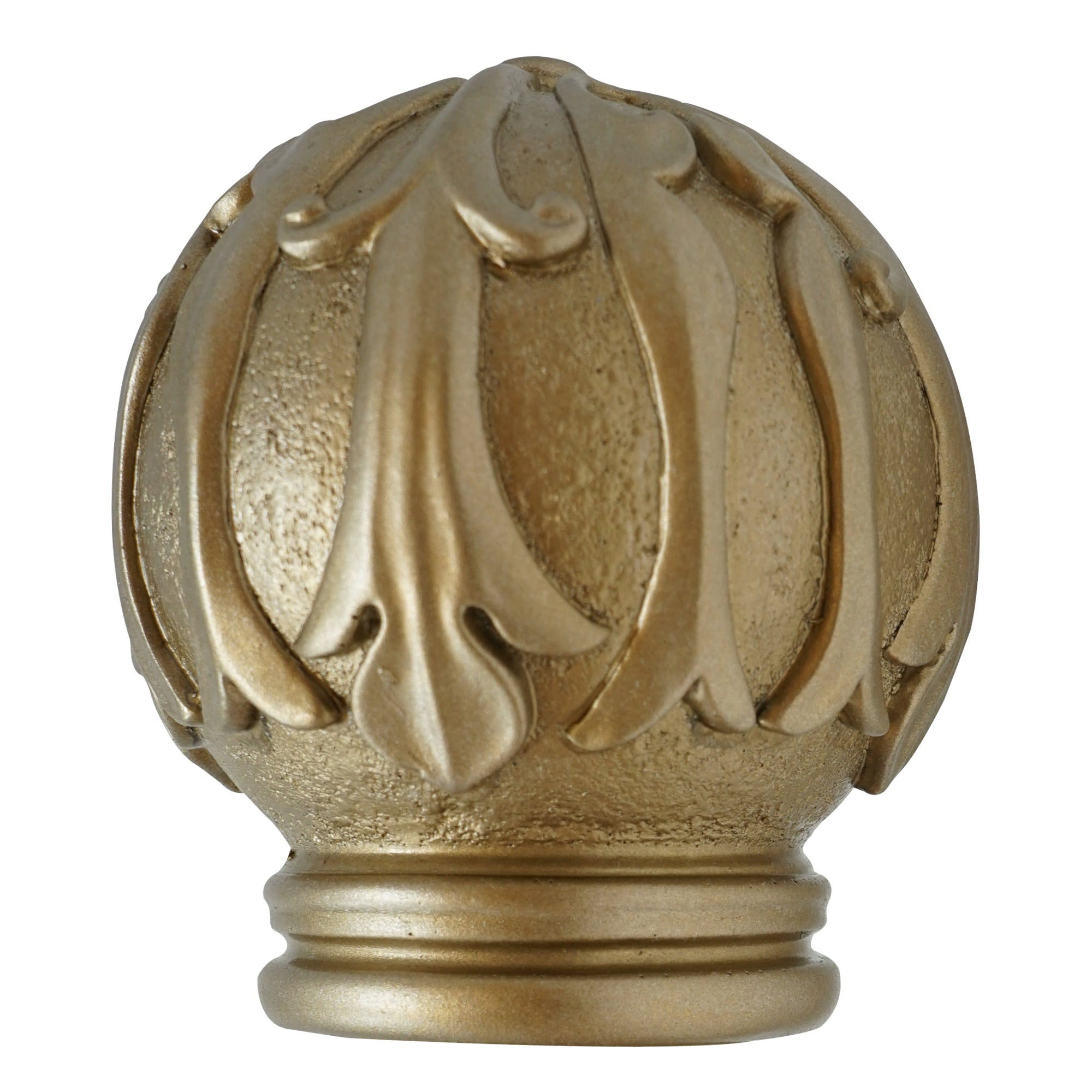 Wood Finial - Champagne Finish