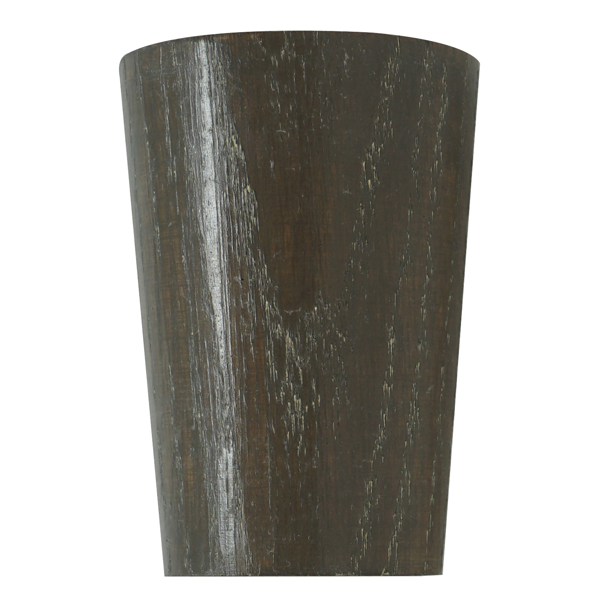 Wood Taper Finial - Chocolate Finish