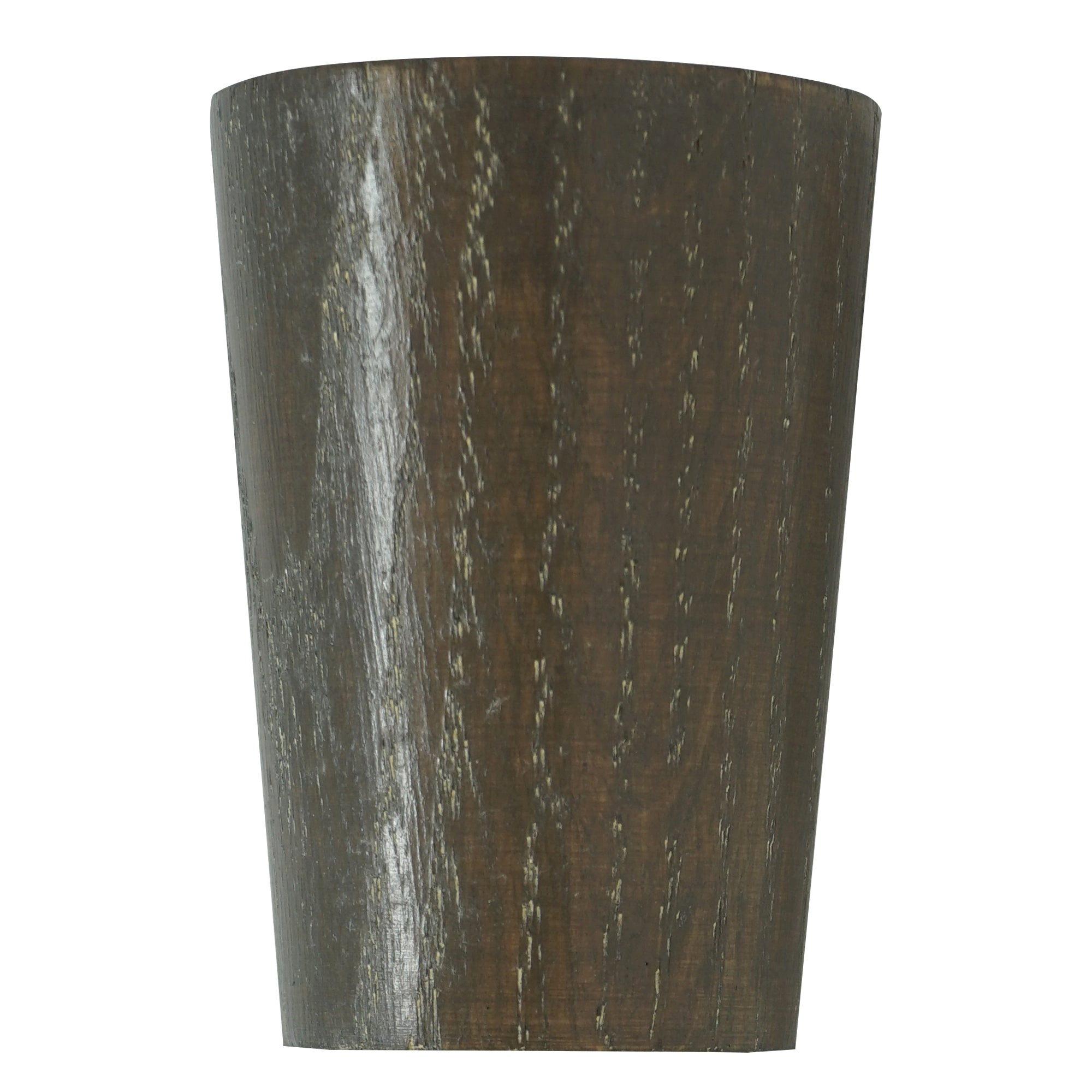 Wood Taper Finial - Smoke Finish
