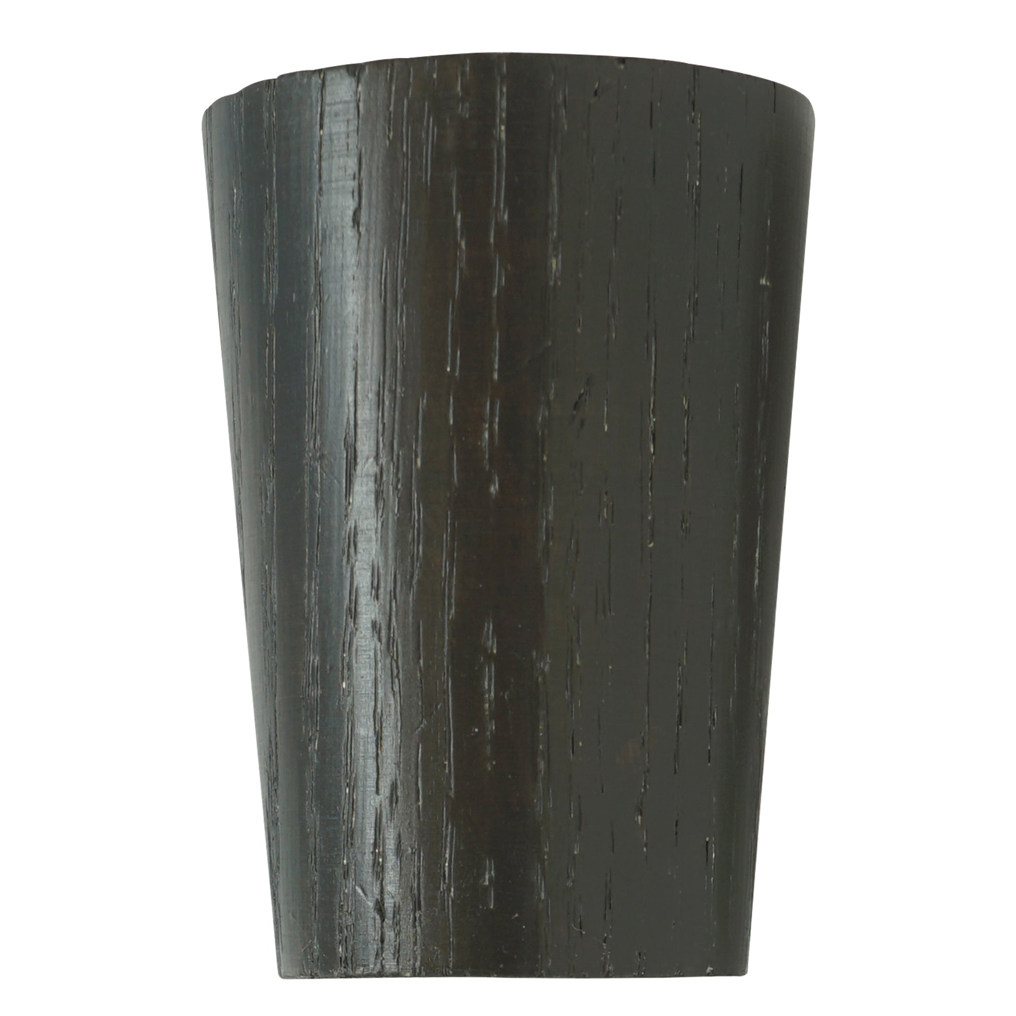 Wood Taper Finial - Charcoal Finish