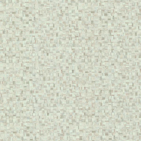 Sanaa Green Paperweave Texture Wallpaper